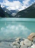 Lac Louise Alberta Canada park national de Banff Image libre de droits