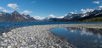 Lac Lucerne, Suisse Photographie stock libre de droits