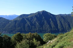 Lac Lugano Photo stock