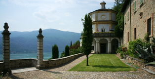 Lac Lugano Photo libre de droits