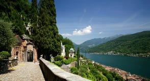 Lac Lugano Photos stock