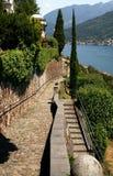 Lac Lugano Photographie stock libre de droits
