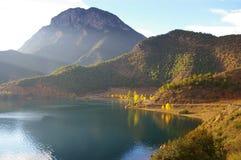 Lac Lugu Images stock