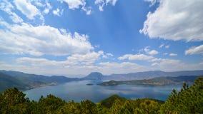 Lac Lugu Images libres de droits