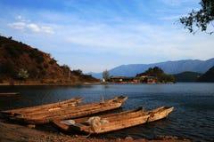 Lac Lugu Image libre de droits