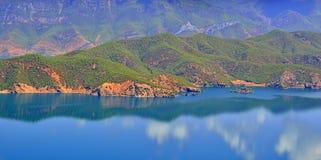 Lac Lugu, le royaume des femmes Photographie stock libre de droits