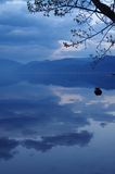 Lac Lugu, Yunnan, Chine Images libres de droits