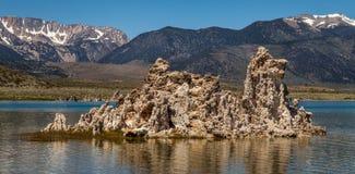 Lac lunaire Photo stock