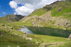 Lac Lusia Photographie stock