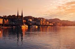 Lac Luzerne photos stock