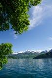 Lac Luzerne photo stock
