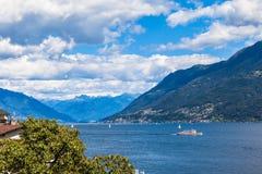Lac Maggiore Photos stock