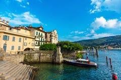Lac Maggiore Stresa Italie Images libres de droits