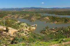 Lac magnifique, Andalousie Espagne. Photos libres de droits