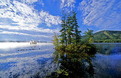 Lac maine Photographie stock libre de droits