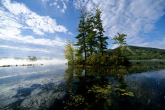Lac maine photo libre de droits
