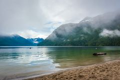 Lac majestueux de chilliwack Photo stock