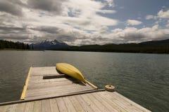 Lac Maligne Image libre de droits