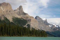 Lac Maligne Images libres de droits