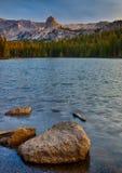 Lac Mamie Sunrise Images libres de droits