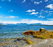 Lac Manapouri Photographie stock