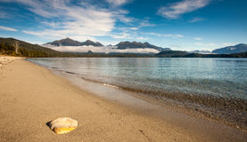 Lac Manapouri Photos stock