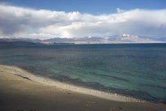 Lac Manasarovar au Thibet Images libres de droits