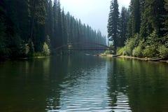 Lac Manning Park British Columbia lightning images stock