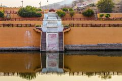 Lac Maotha Amer Fort Fort ambre Photographie stock