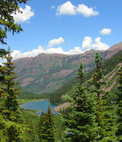 Lac marron dans le Colorado Photos libres de droits