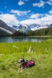 Lac marvel photo stock