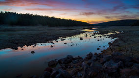 Lac Mary Landscapes Photographie stock