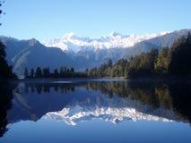 Lac Matheson/Nouvelle-Zélande Image libre de droits