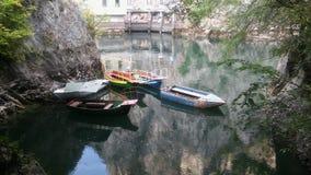 Lac Matka près de Skopje Macédoine Image stock