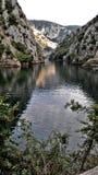 Lac Matka près de Skopje Macédoine Photographie stock