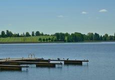 Lac Mazurian Photo libre de droits