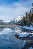 Lac Mcdonald Photo libre de droits