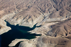 Lac Mead Aerial View Image libre de droits