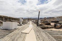 Lac Mead Drought Damage Photo libre de droits