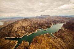 Lac Mead Hoover Dam Photographie stock libre de droits