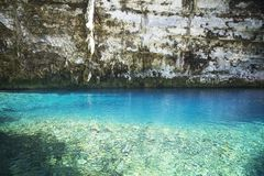 Lac Melissani sur Kefalonia photos stock
