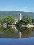Lac Menteith, Ecosse Photos stock