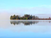Lac MI Waloon Photos libres de droits