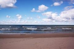 Lac Michigan Photo stock
