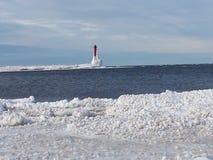 Lac Michigan Photographie stock libre de droits