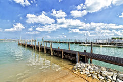 Lac Michigan image libre de droits