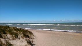 Lac Michigan 2 Photos libres de droits