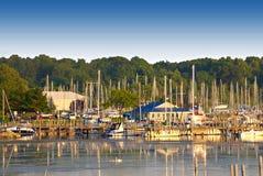 Lac Michigan blanc, Etats-Unis photographie stock libre de droits