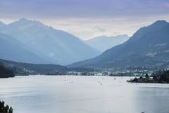 Lac Millstatter en Autriche photographie stock