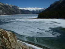 Lac Minewanka photos libres de droits